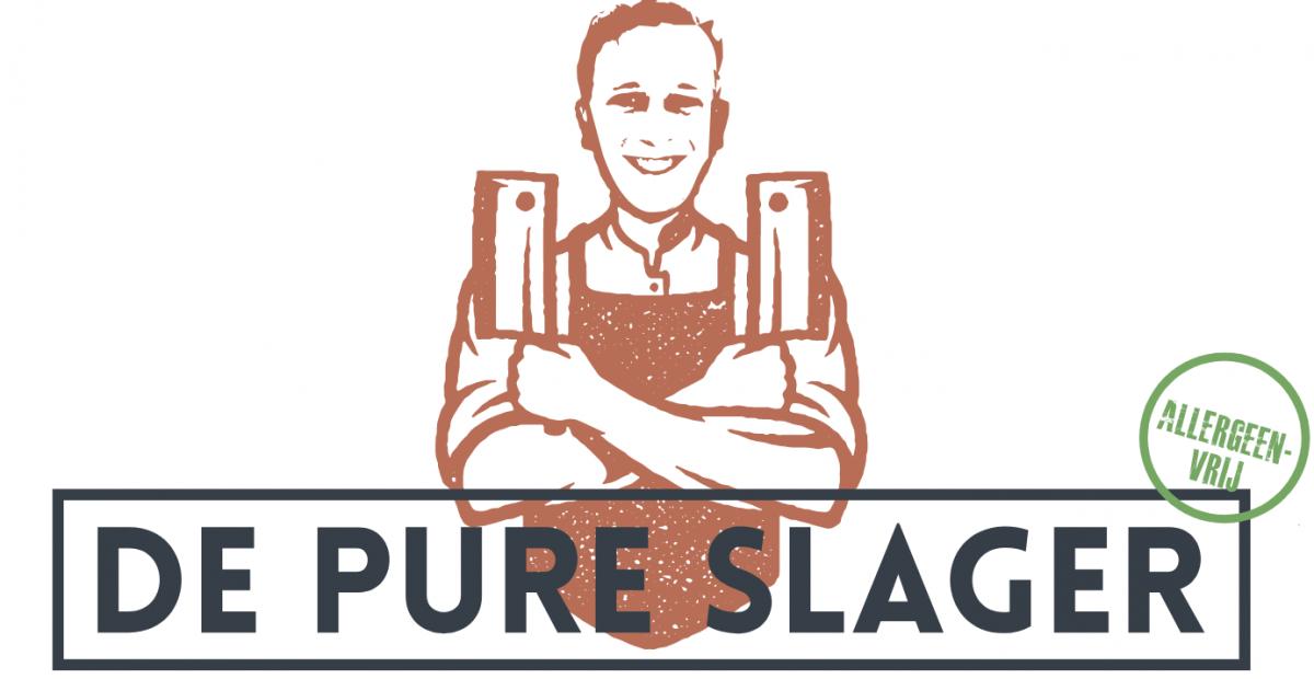 Logo verkooppunten 't Krulstaartje - de Pure Slager